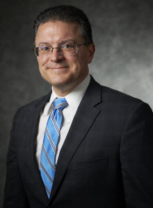 Portrait of Michael T. Bakas, Executive Vice President Distributed Energy Systems at Ameresco