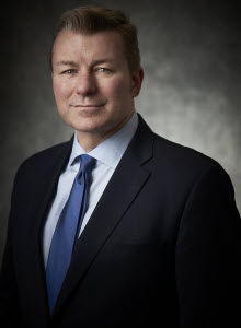 Portrait of Doran Hole, Senior Vice President and Chief Financial Officer of Ameresco, Inc.