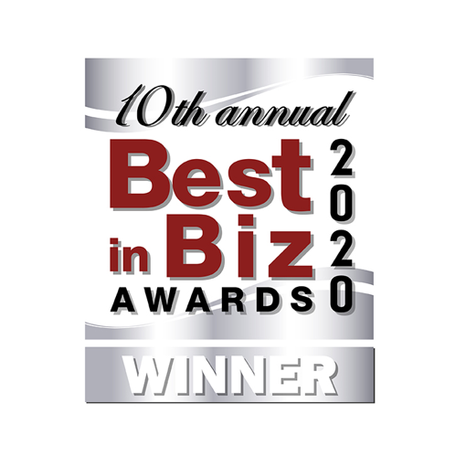 10th Annual Best in Biz Awards 2020 Winner logo