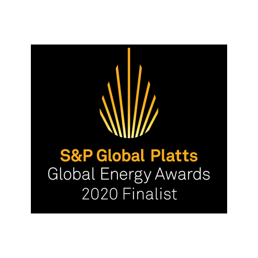 S&P Global Energy Awards 2020 Finalist Logo